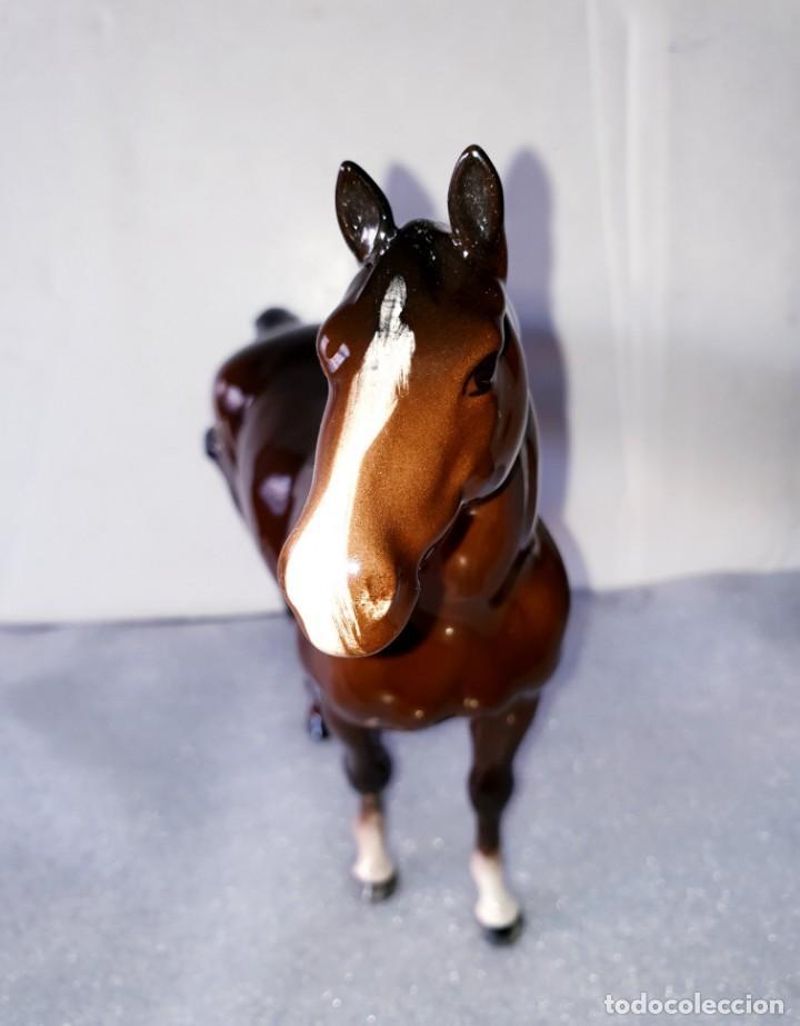 Antigüedades: Precioso caballo de porcelana de Beswick, England. Del S. XX - Foto 12 - 195331631