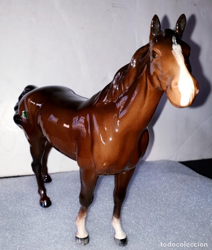 Antigüedades: Precioso caballo de porcelana de Beswick, England. Del S. XX - Foto 13 - 195331631
