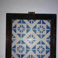 Antigüedades: MAGNÍFICO AZULEJO ANTIGUO. Lote 195335012