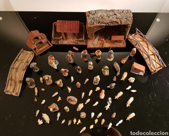 Antigüedades: PESEBRE TERRACOTA C.1930 - Foto 3 - 195335040