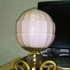 Antigüedades: LAMPARA DE MESA ART DECÓ. Lote 195335066