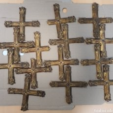 Antigüedades: VIA CRUCIS EN MADERA. Lote 195338418