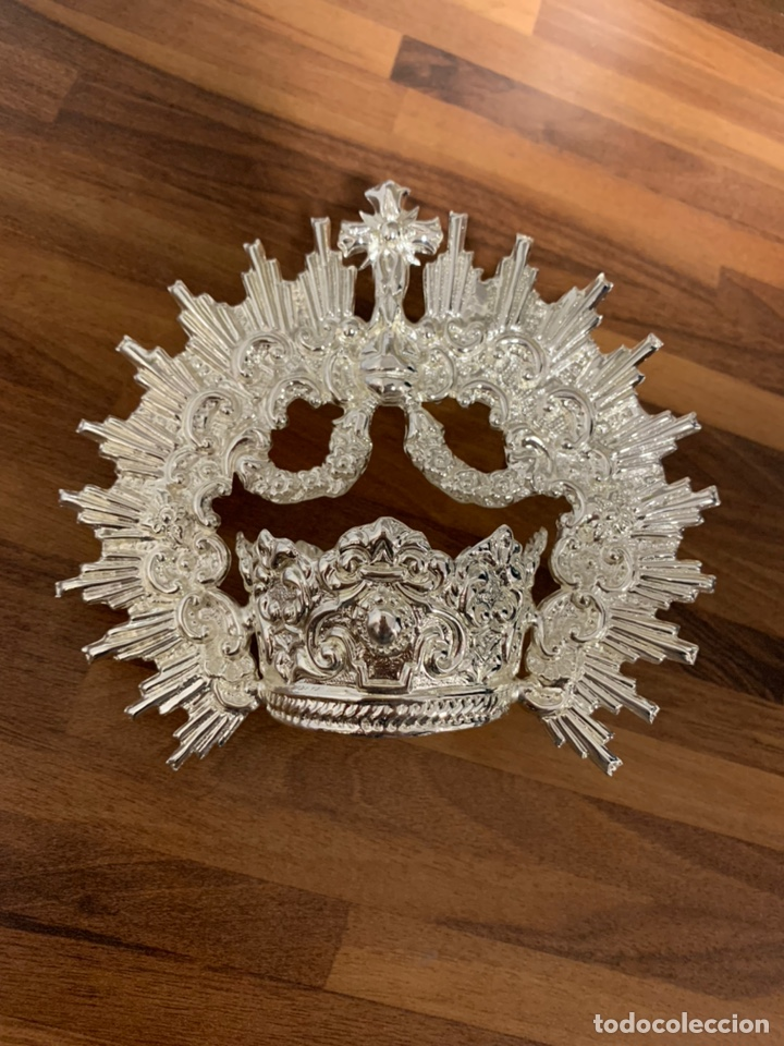 Antigüedades: Corona para virgen dolorosa y cap i pota - Foto 5 - 195340062