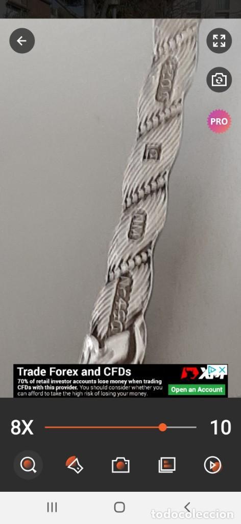 Antigüedades: Bonito lote de diferentes cubiertos antiguos con marcajes .plata y plata plateado. Inglaterra. - Foto 9 - 195345067