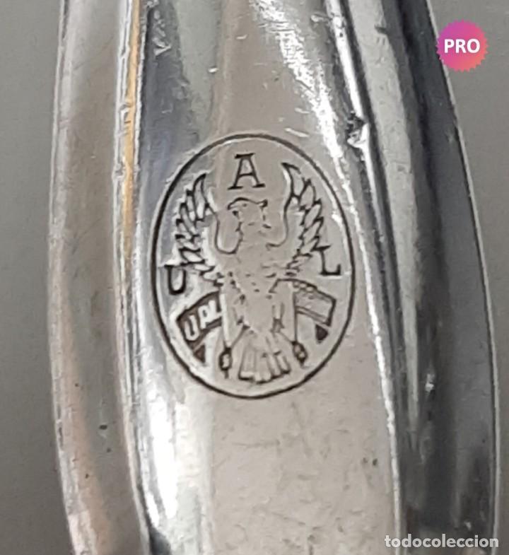 Antigüedades: Antiguos tenedores con marcajes . Desconocido - Foto 3 - 195345111