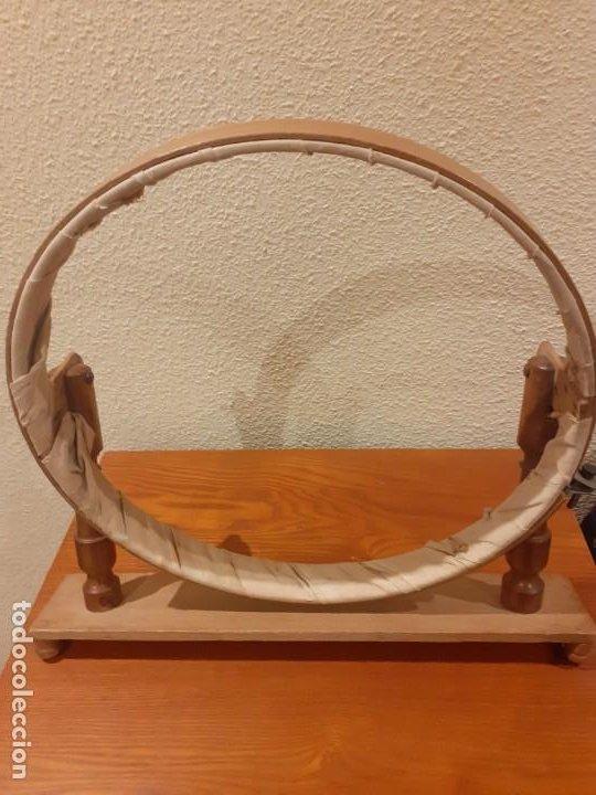 BASTIDOR ANTIGUO DE MADERA (Antigüedades - Varios)