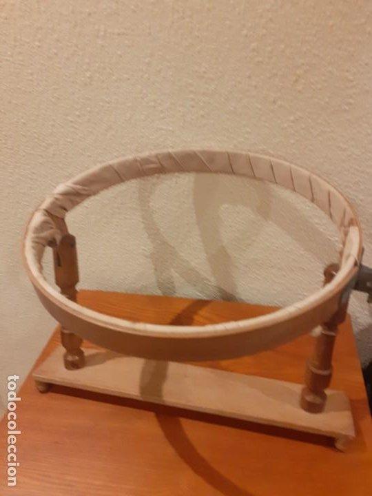 Antigüedades: Bastidor antiguo de madera - Foto 3 - 195345300