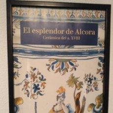 Antigüedades: CARTEL ANTIGUO DE CERÁMICA DE ALCORA. Lote 195347342
