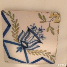 Antigüedades: AZULEJO ANTIGUO. Lote 195350417