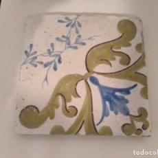Antigüedades: AZULEJO ANTIGUO. Lote 195350688