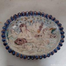 Antigüedades: PRECIOSO PLATO ITALIANO SIGLO XIX. Lote 195356661