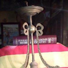 Antigüedades: LAMPARA DE TECHO .. Lote 195356960