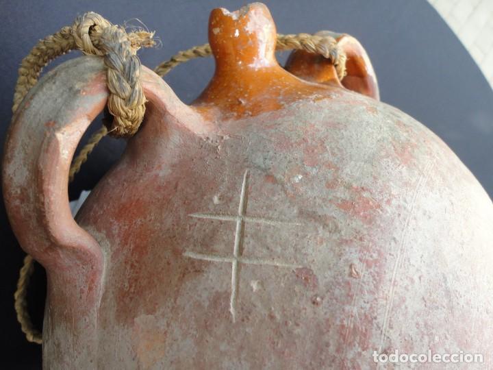 Antigüedades: Alfarería castellana: Cantimplora de Toro (Zamora) - Foto 4 - 195366935