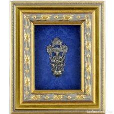 Antigüedades: BENDITERA DE PLATA FINA. Lote 195369878