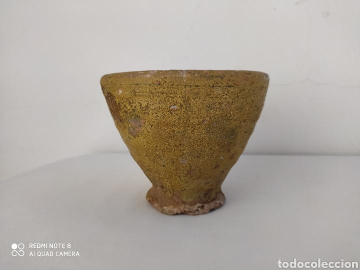 CUENCO ANTIGUO (¿PARA RECOJIDA DE RESINA?) (Antigüedades - Porcelanas y Cerámicas - Otras)