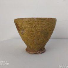 Antigüedades: ANTIGUO CUENCO DE BARRO.. Lote 195377185