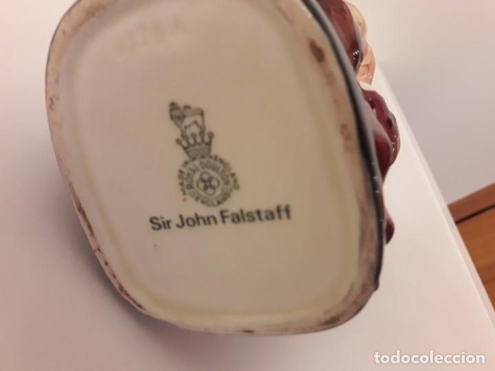 Antigüedades: Sir Jhon Falstaff, Royal Doulton - Foto 4 - 195378156