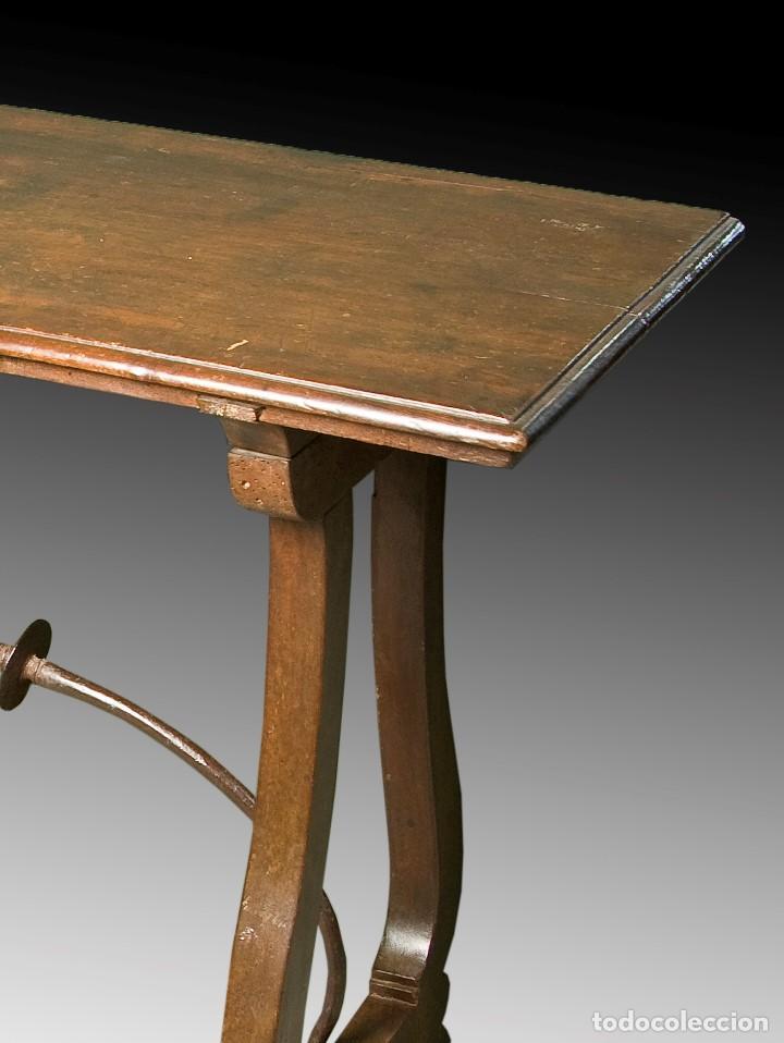 Antigüedades: Mesa bargueñera. Castilla, siglo XVII. - Foto 3 - 195381386