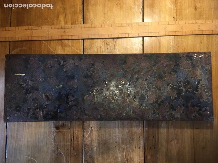 Antigüedades: Cartel de chapa antiguo Correos esmaltada - Foto 7 - 195381937