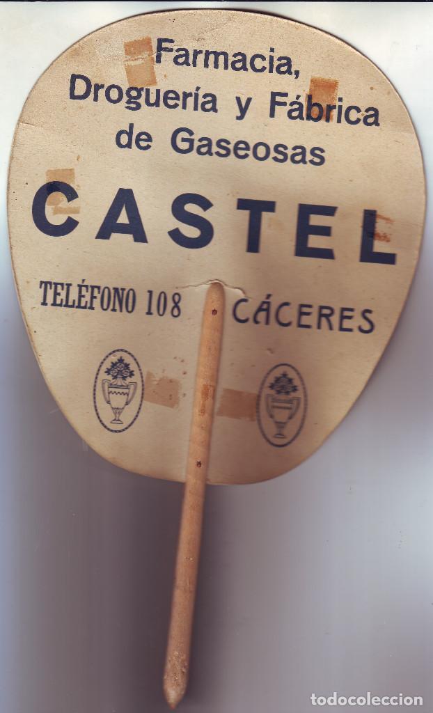 Antigüedades: CÁCERES PAY PAY DE LA FARMACIA CASTEL DE PRINCIPIOS DEL SIGLO XX - Foto 2 - 195382610