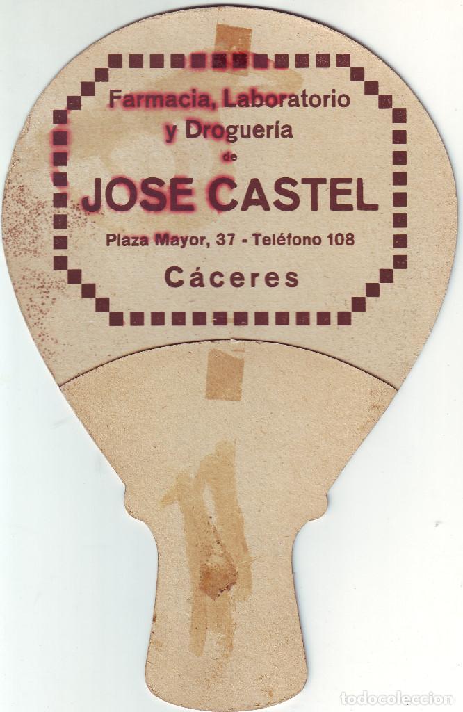 Antigüedades: CÁCERES PAY PAY DE LA FARMACIA CASTEL DE PRINCIPIOS DEL SIGLO XX - Foto 2 - 195383431