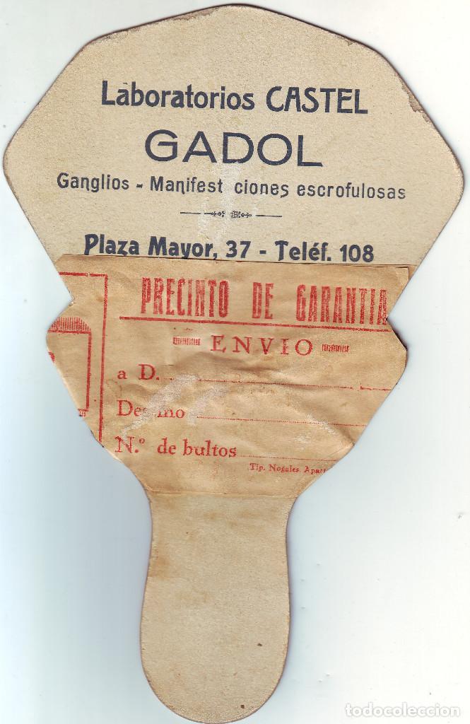 Antigüedades: CÁCERES PAY PAY DE LA FARMACIA CASTEL DE PRINCIPIOS DEL SIGLO XX - Foto 2 - 195384345