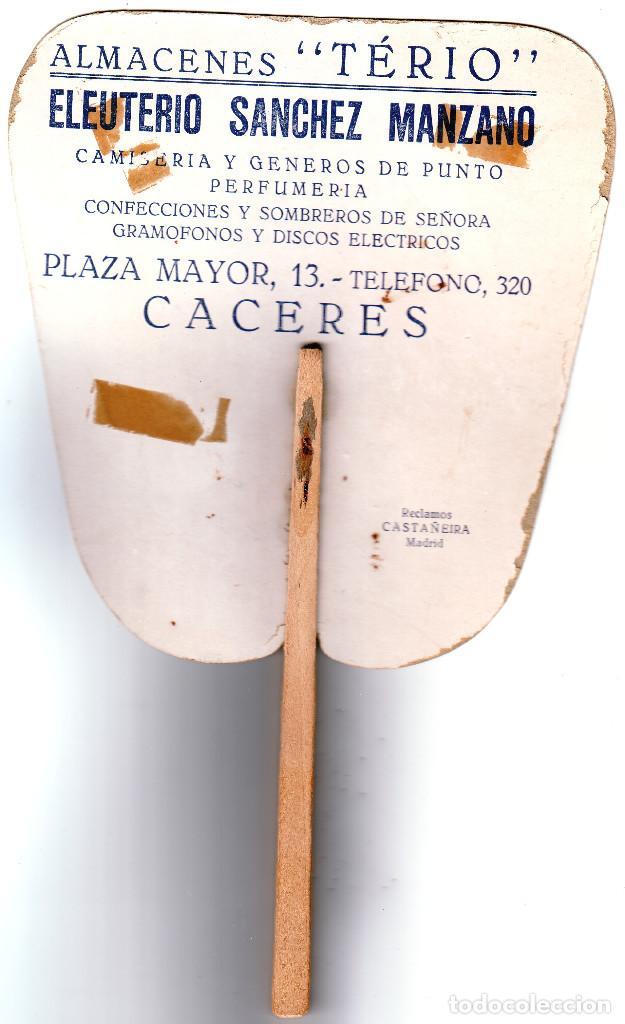 Antigüedades: CÁCERES PAY PAY DE ALMACENES TÉRIO PRINCIPIOS SIGLO XX - Foto 2 - 195385257