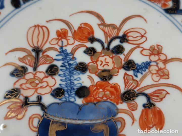 Antigüedades: Plato. Porcelana. Imari. Japón. Siglo XIX. - Foto 9 - 195387755
