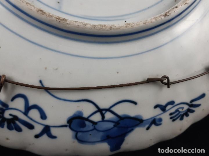 Antigüedades: Plato. Porcelana. Imari. Japón. Siglo XIX. - Foto 12 - 195387755