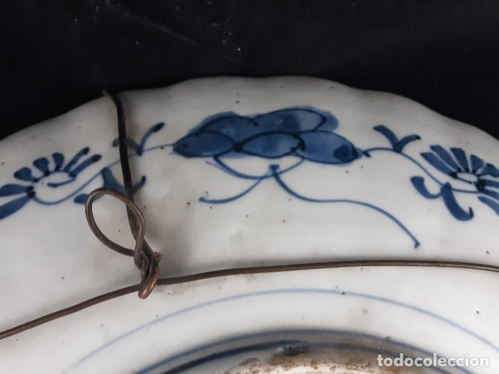 Antigüedades: Plato. Porcelana. Imari. Japón. Siglo XIX. - Foto 16 - 195387755