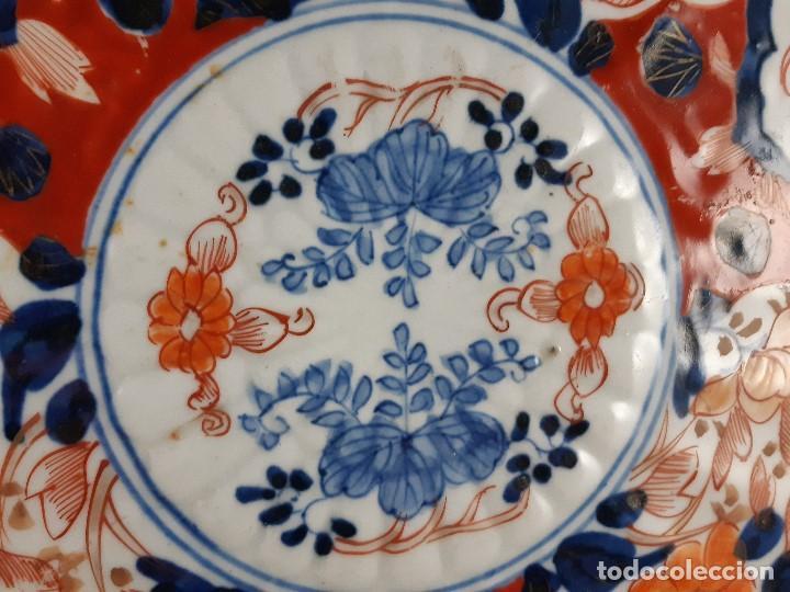 Antigüedades: Plato. Porcelana. Imari. Japón. Siglo XIX. - Foto 2 - 195387900