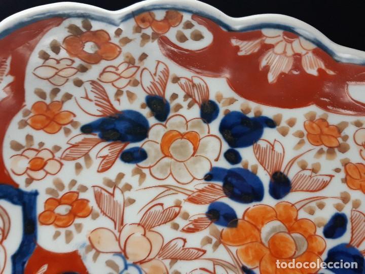 Antigüedades: Plato. Porcelana. Imari. Japón. Siglo XIX. - Foto 7 - 195387900