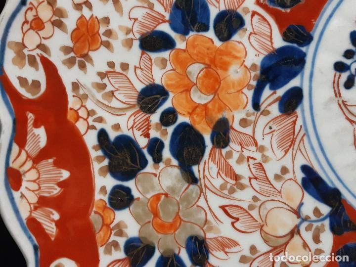 Antigüedades: Plato. Porcelana. Imari. Japón. Siglo XIX. - Foto 9 - 195387900