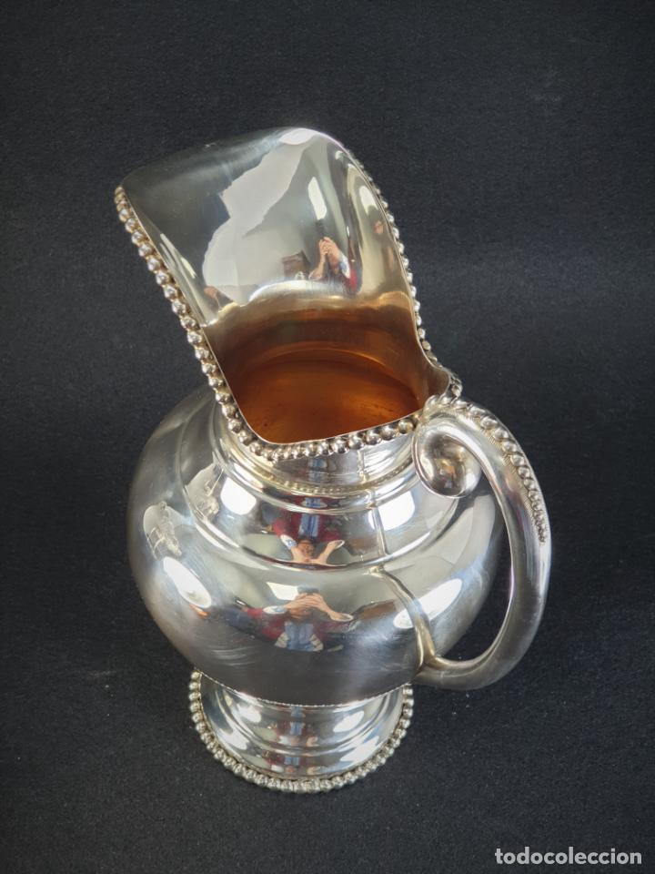 Antigüedades: jarra en plata ley marcado con contraste - Foto 6 - 195389732