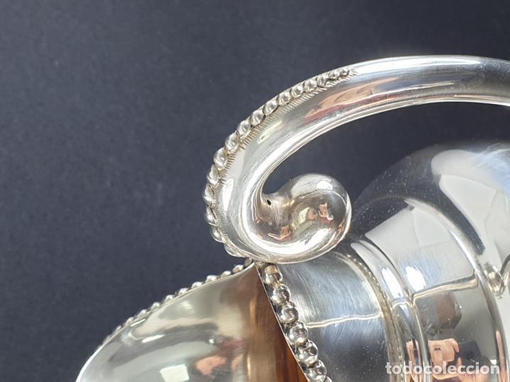 Antigüedades: jarra en plata ley marcado con contraste - Foto 8 - 195389732
