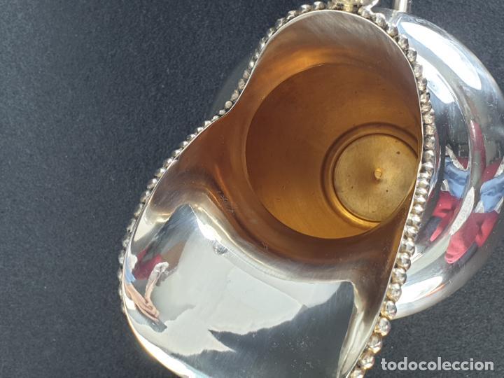 Antigüedades: jarra en plata ley marcado con contraste - Foto 10 - 195389732