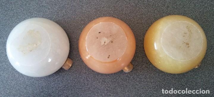 Antigüedades: Lote ceniceros alabastro - Foto 4 - 195394915