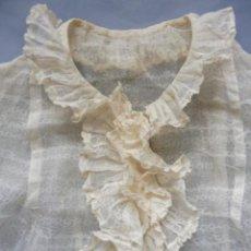 Antiguidades: ANTIGUA CAMISA CON CHORRERA PPIO. S.XX. Lote 195367107
