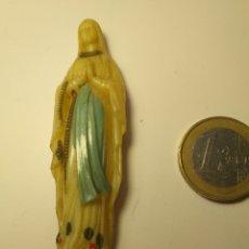 Antigüedades: FIGURA VIRGEN MARIA BRILLA EN LA OSCURIDAD. Lote 195405376
