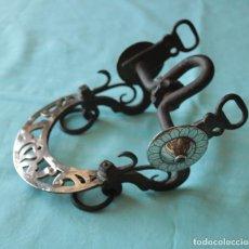 Antigüedades: BOCADO DE CABALLO ARGENTINO ESPECTACULAR. SPECTACULAR ARGENTINE HORSE BIT.. Lote 51033911