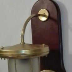 Antigüedades: APLIQUE NÁUTICO DE PARED, DE 42 CMS DE LARGO.. Lote 195418391
