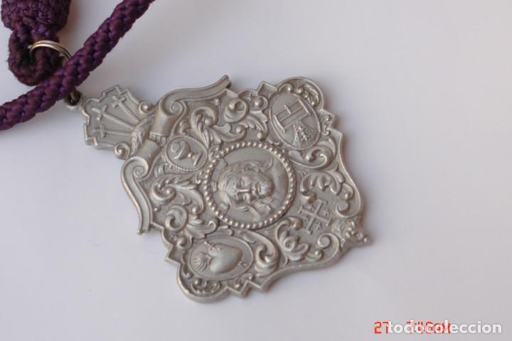 HERMANDAD CRISTO PERDON Y SANTISIMA DEL MAYOR DOLOR PARTRIARCA SAN JOSE-RINCONADA -SEVILLA (Antigüedades - Religiosas - Medallas Antiguas)