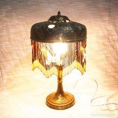 Antigüedades: LAMPARA MODERNISTA DE SOBREMESA, C.1900. Lote 195430516