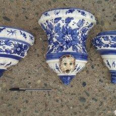 Antigüedades: JUEGO DE PORCELANA ANTIGUO.. Lote 195430592