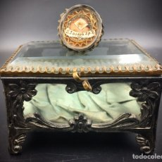 Antigüedades: RELICARIO DE SAN JOSÉ. S.XVIII LACRADO.. Lote 195435055