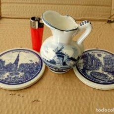 Antigüedades: LOTE PORCELANA HOLANDA.. Lote 195437918