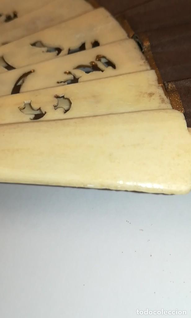 Antigüedades: Precioso abanico varillas marfil o hueso escena de Goya firma Porta - Foto 22 - 195443131