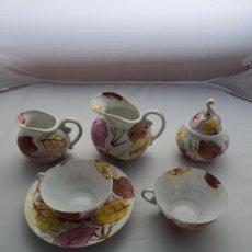 Antigüedades: CASTRO-SARGADELOS PARTE JUEGO CAFE. Lote 195451392