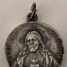 Antigüedades: ANTIGUA ( MEDALLA JESÚS MISERICORDIOSO ). MÁS MEDALLAS ANTIGUAS EN MI PERFIL. Lote 195461443