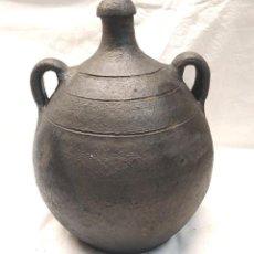 Antigüedades: PEQUEÑO BARRAL DE QUART GERONA, TERRACOTA BARRO, BUEN ESTADO. MED. 28 CM. Lote 195466281